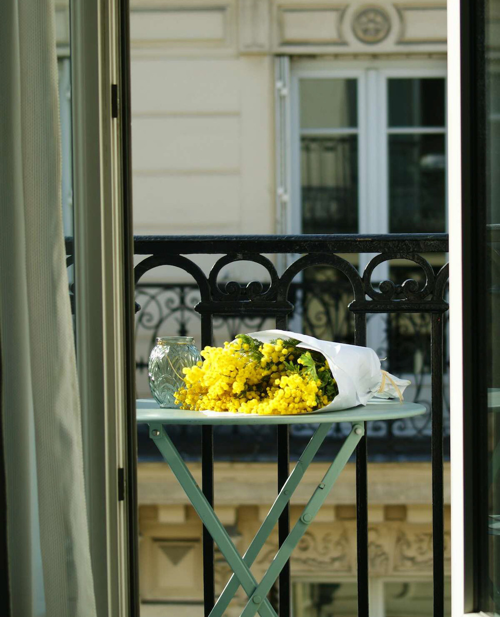 le petit lafayette balcon mimosa