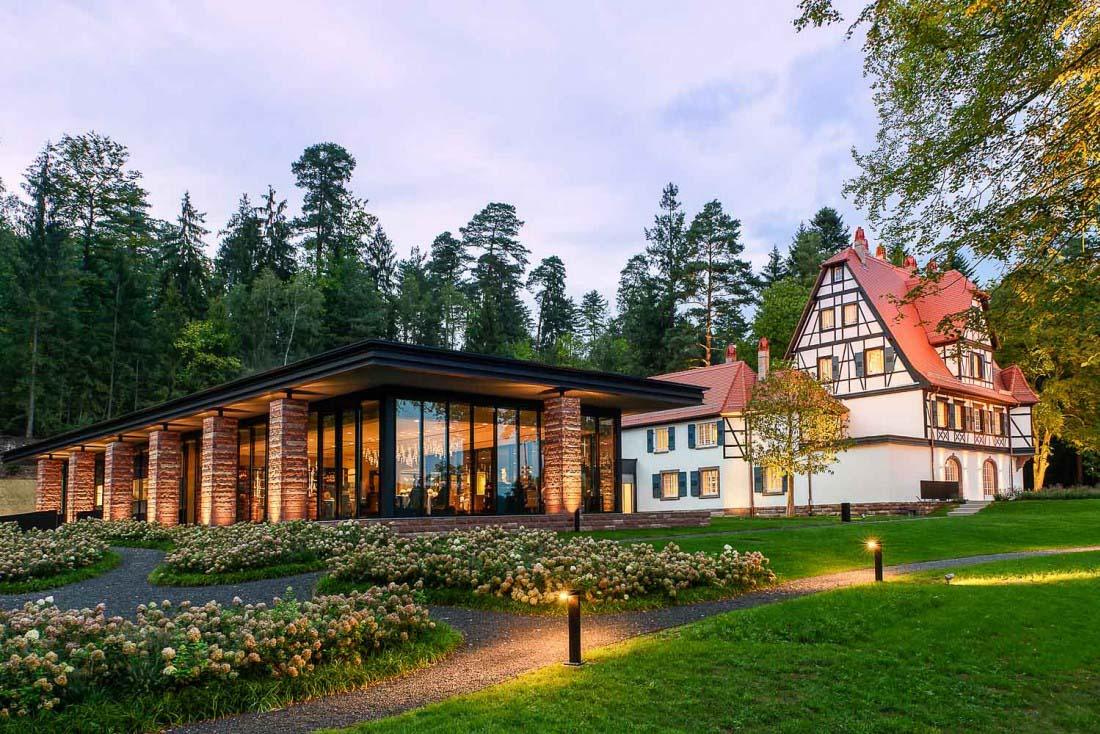Villa René Lalique extérieur