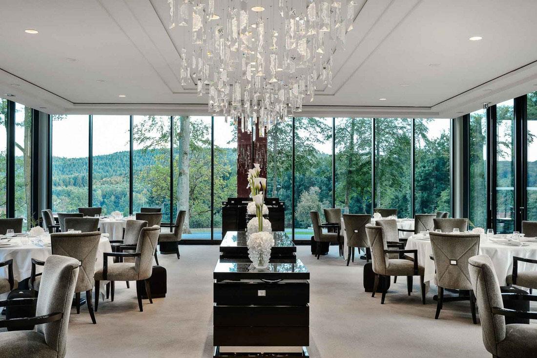 Villa René Lalique restaurant