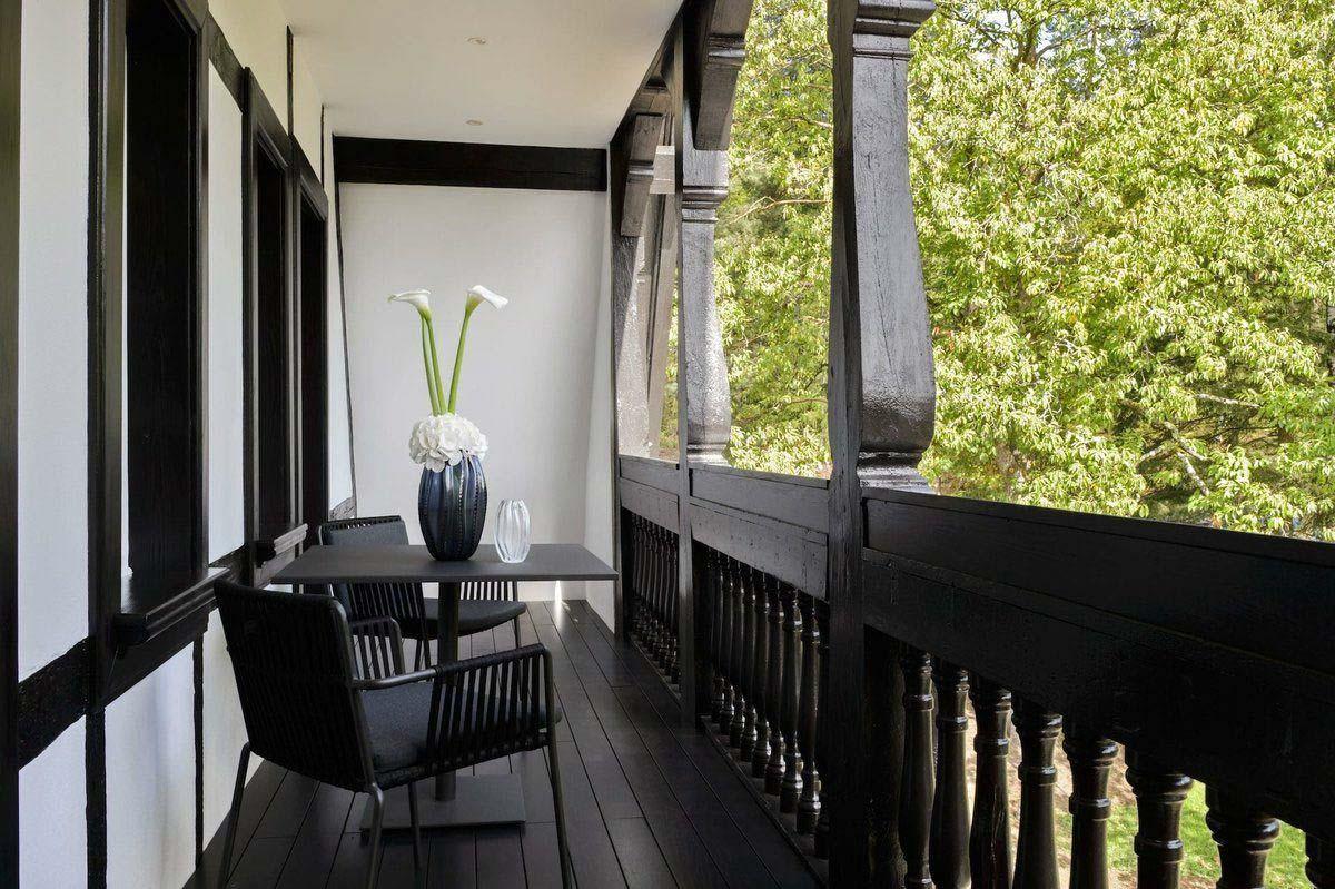 Villa René Lalique suite balcon